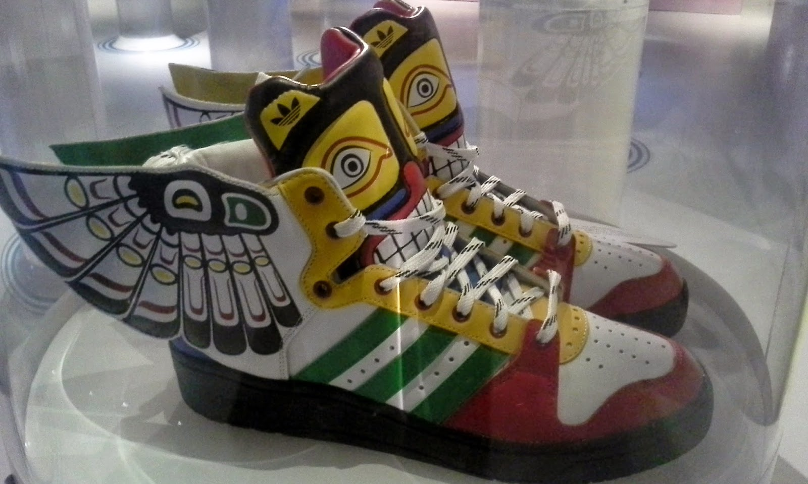 The Bata Shoe Museum Exhibit: Out Of The Box: The Rise of Sneaker Culture Toronto Melanie.Ps Blogger The Purple Scarf Fashion