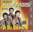 CD Musik Album The Best Of pop Batak (Trio Ambisi)
