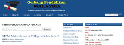 Scholarships 2011 list in Malaysia