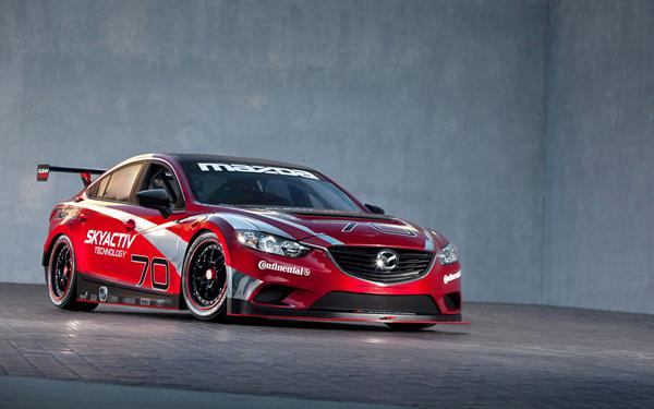 Victoria del nuevo Mazda6 en el Grand-AM Series de Estados Unidos