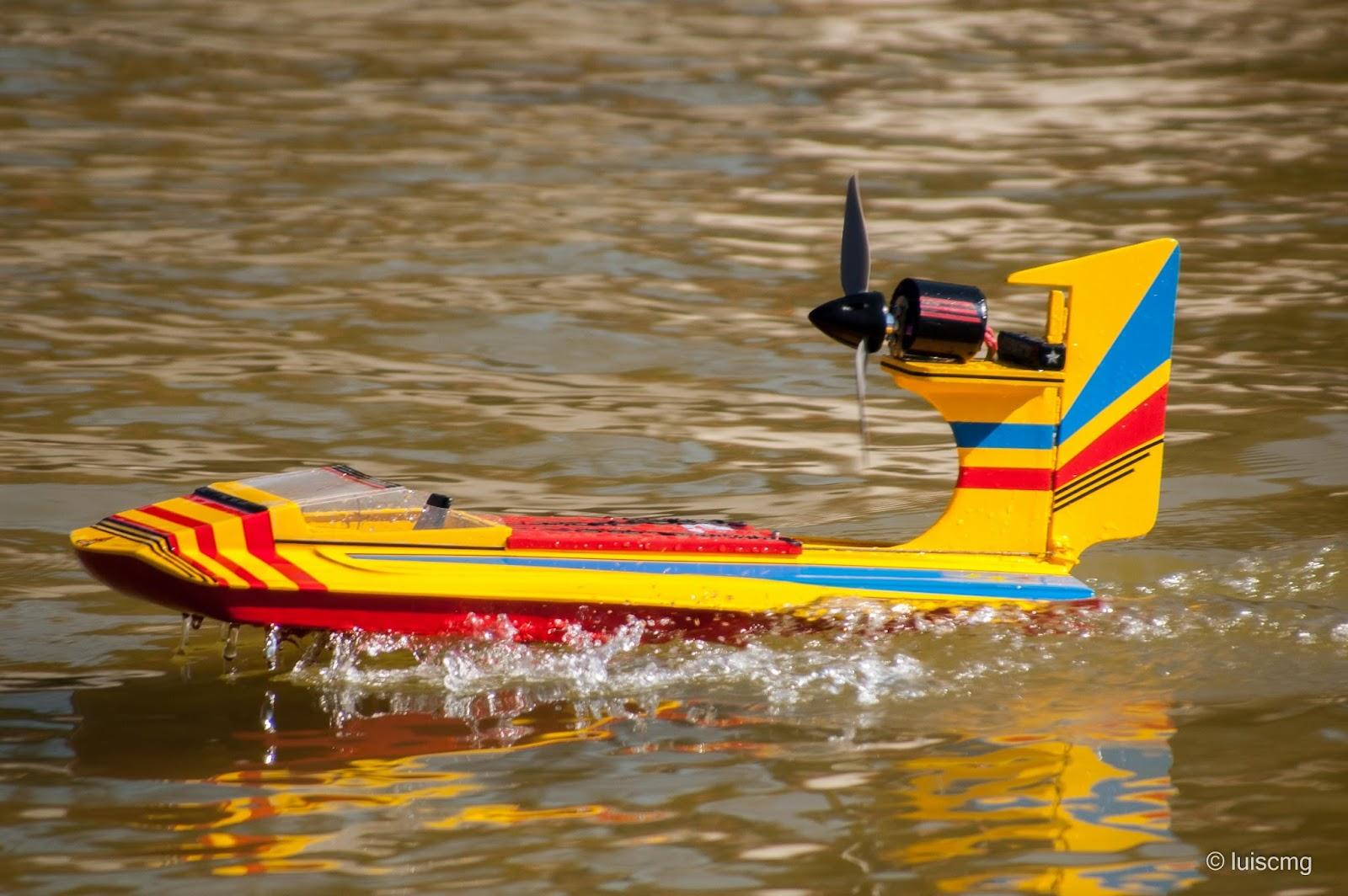 Modelismo naval, velocidades de obturación.
