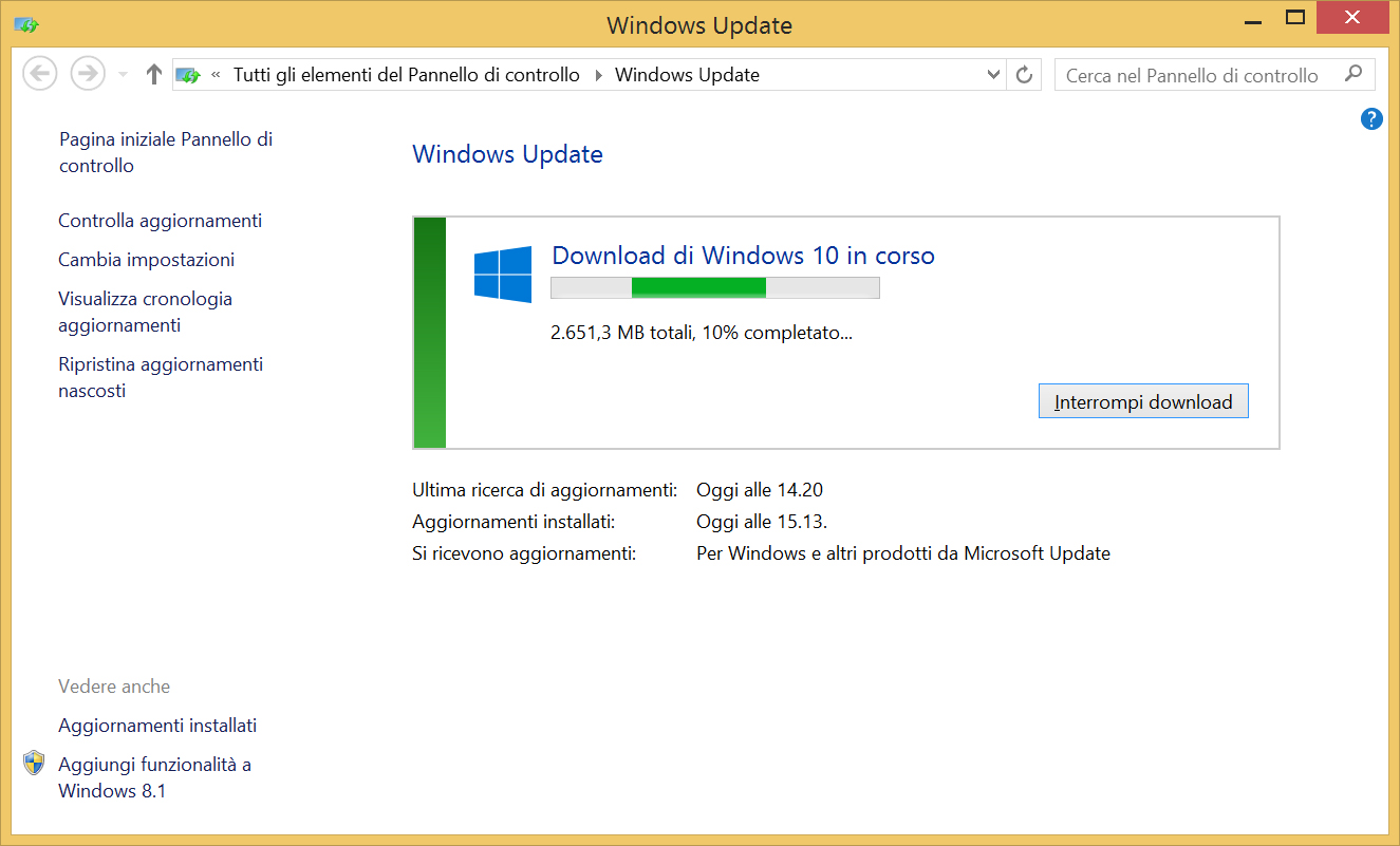 Blog windows 10 ecco come funziona l for La licenza di windows sta per scadere