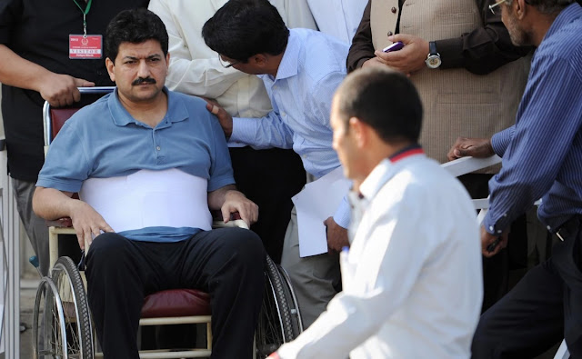 Hamid Mir firing