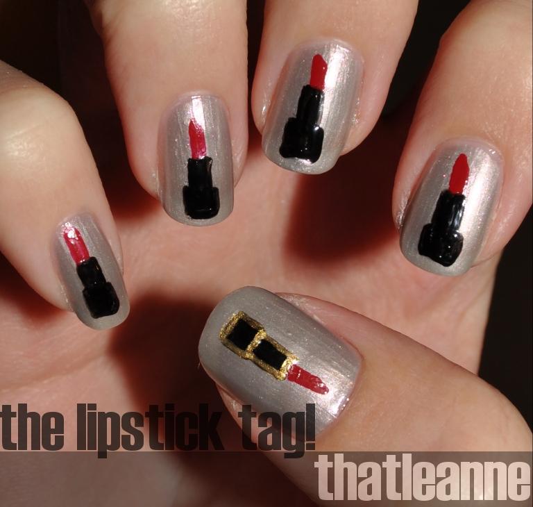 Thatleanne Chococat Nail Art: Thatleanne: The Lipstick Tag