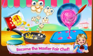 Screenshots of the Baby Food Fair - Make & Play for Android tablet, phone.