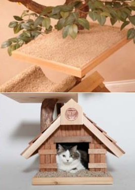 luxury tree house treehouses for indoor pet cats pets