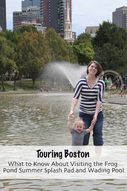 Touring Boston - What to Know About Visiting the Frog Pond Summer Splash Pad and Wading Pool