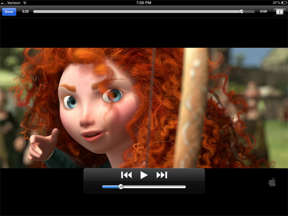 itunes movie trailers for the new ipad 3