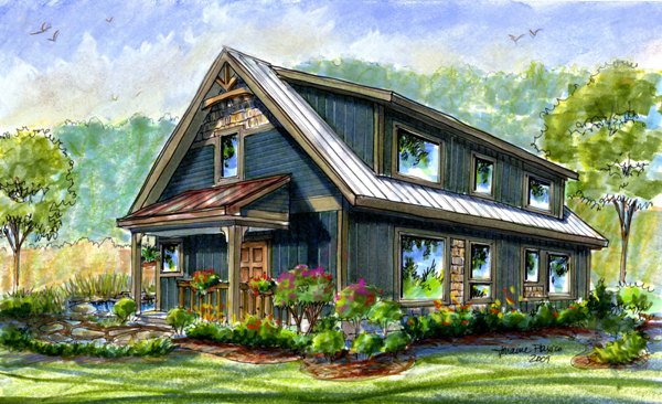 Small Passive Solar House Plans