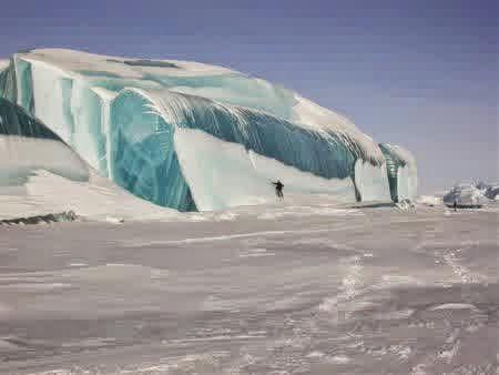 Frozen Wave, Antartika