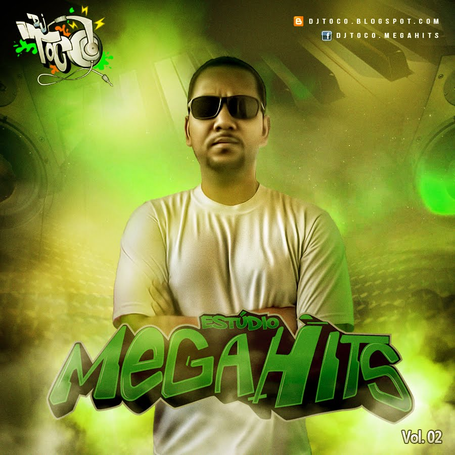 DJ TOCO - CD Estúdio Mega Hits Vol. 02