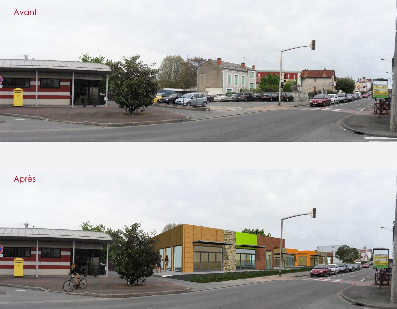 Architecte p rigueux julien flahaut centre commercial coulounieix - Centre commercial perigueux ...