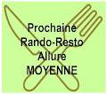 Prochaine Rando-resto MOYENNE mercredi 19 juin