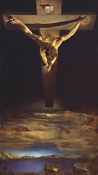 Cristo por Dalí