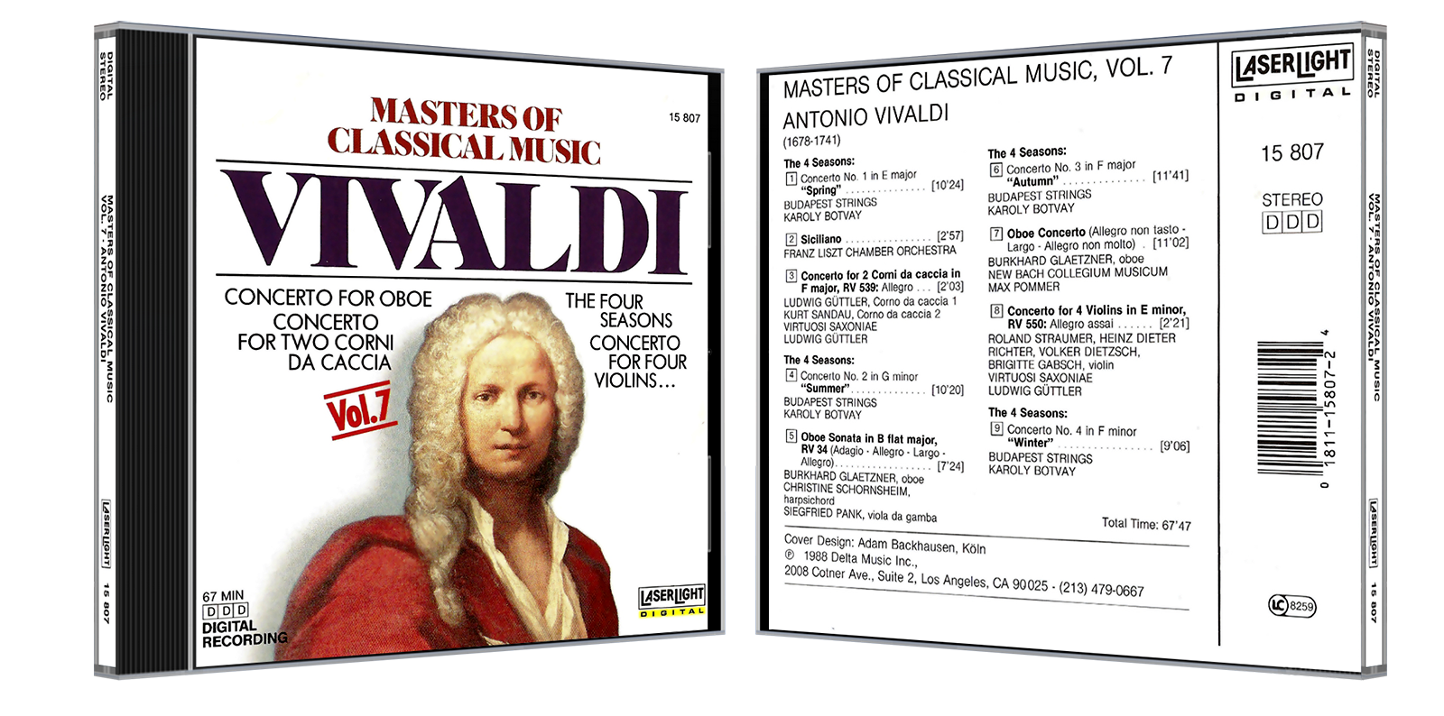 VA - Masters of Classical Music (2008) [Box-Set 10 Disc]