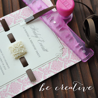 sew ribbon tutorial on Creative Bag's blog