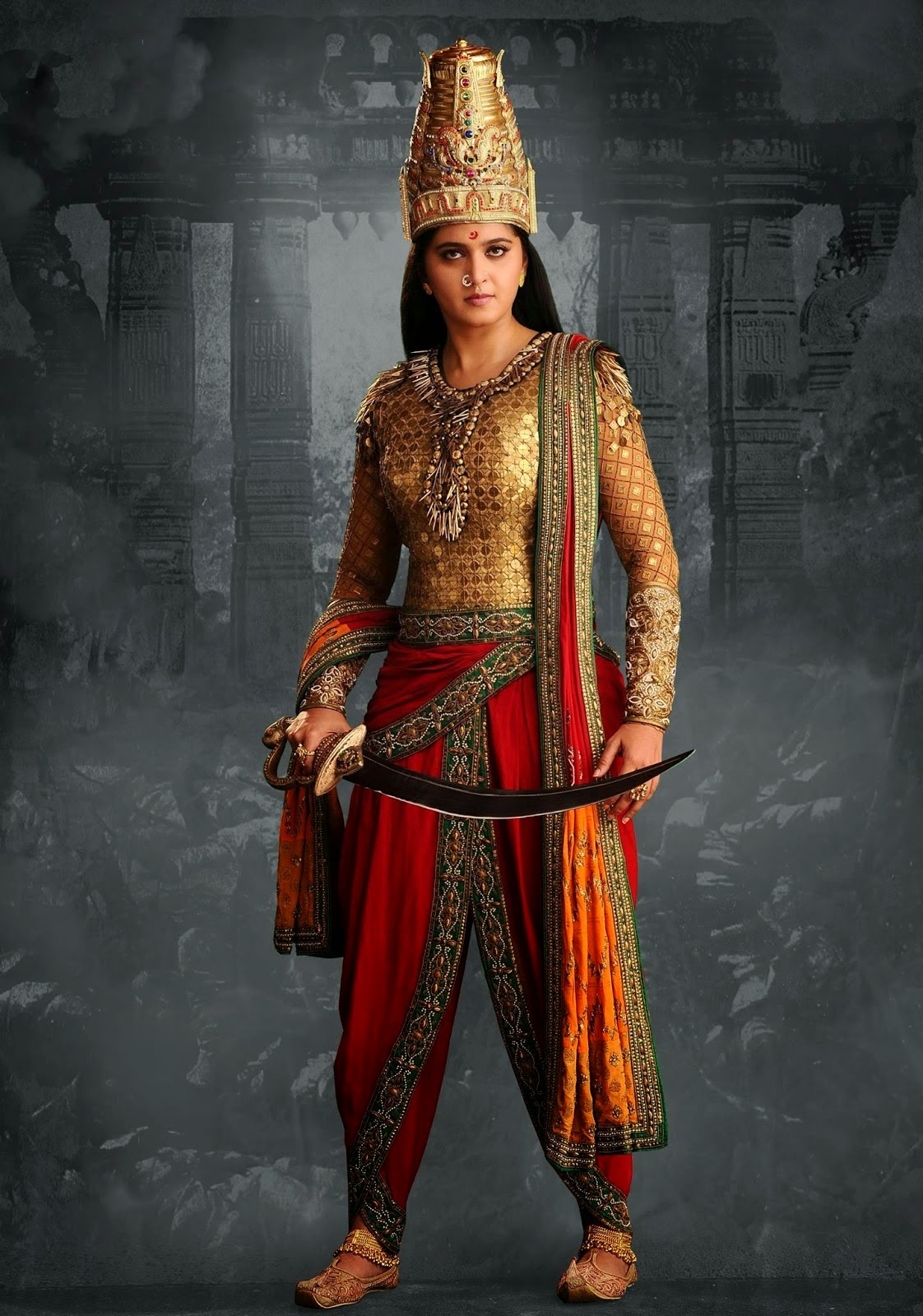 movie Rudhramadevi stills
