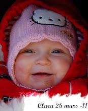 Mitt 1:a barnbarn<br>Clara snart 7 mån