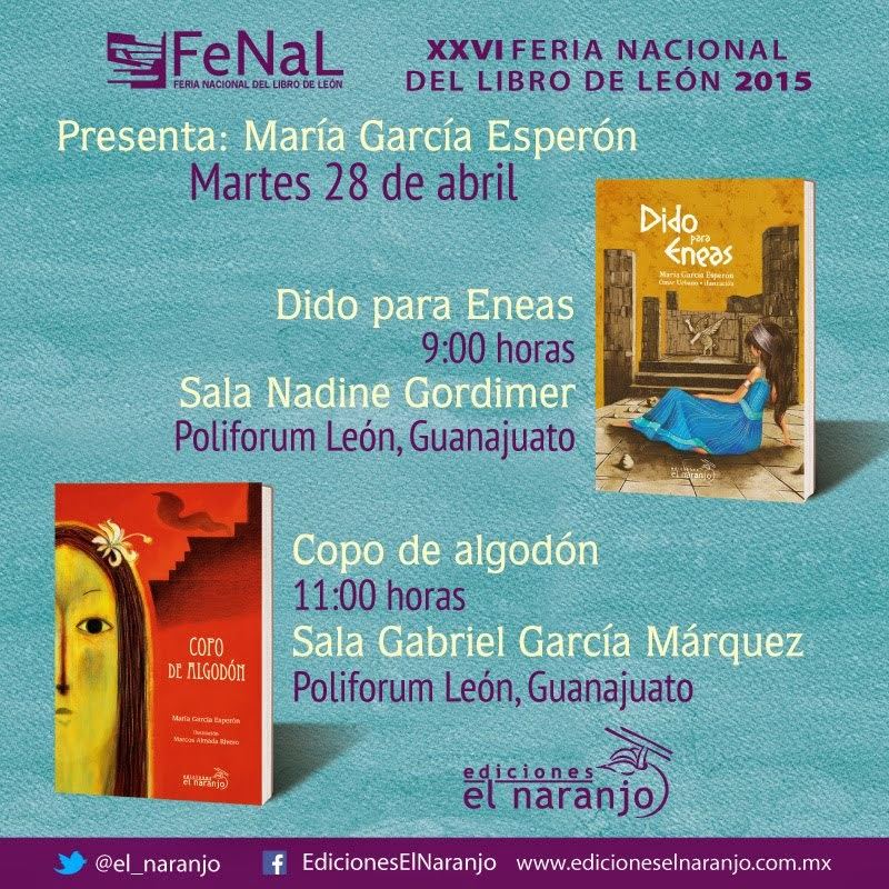 Dido para Eneas y Copo de Algodón en FENAL 2015