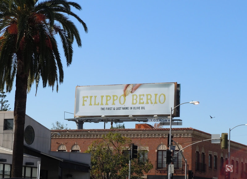 Filippo Berio olive oil billboard