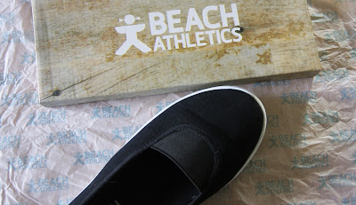 Beach Athletics Black Plimsole Pumps