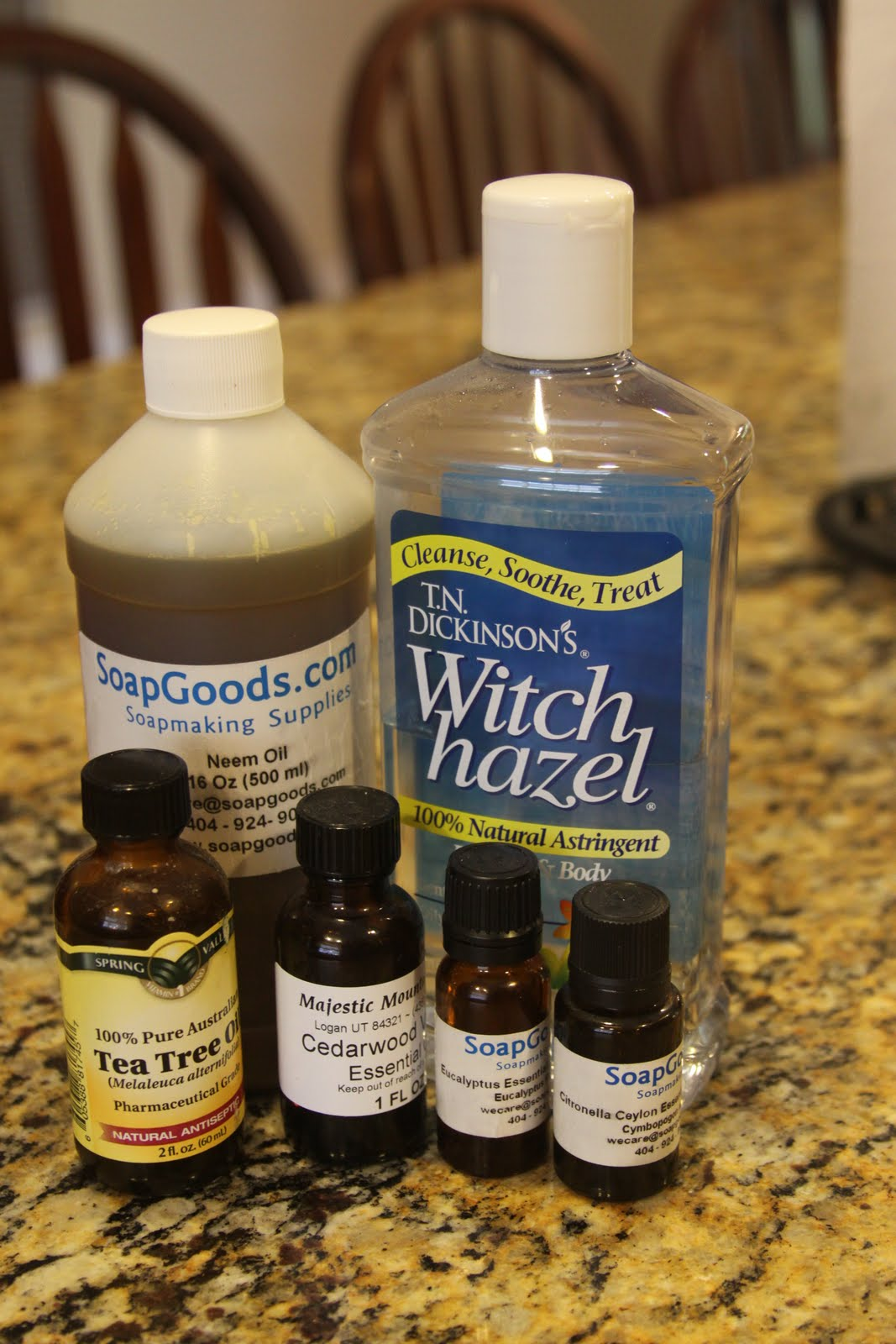 The Homemade Housewife Homemade Non Greasy Bug Repellent