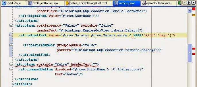 error expression language fuente