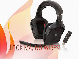 Logitech G930 USB Connector Circumaural Wireless Gaming Headset