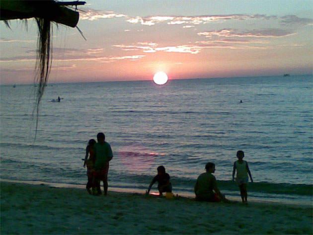 Objek wisata Pantai Bandengan 2