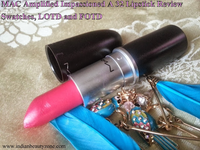 MAC pink lipsticks