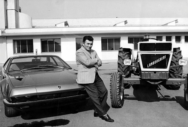 Lamborghini 50th Anniversary | Automobili Lamborghini S.p.A | Lamborghini cars | Lamborghini history | Ferruccio Lamborghini