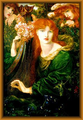 cuadro de Dante Gabriel Rossetti