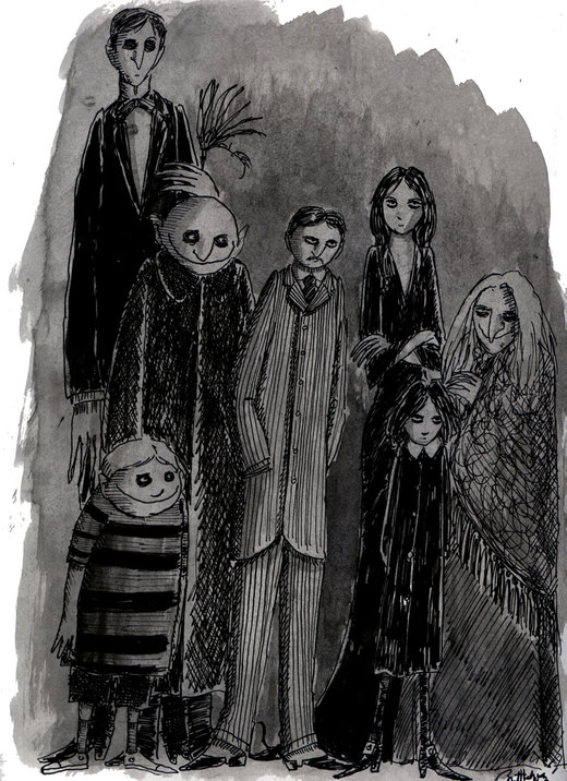 The Addams Family por herbertzohl