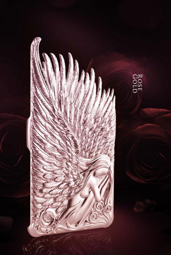 เคส Note 4 Angel Wings 144065 สีชมพู