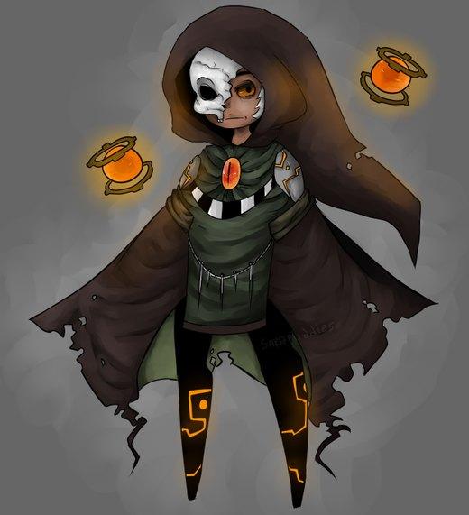 Necromancer por SaraPuddles