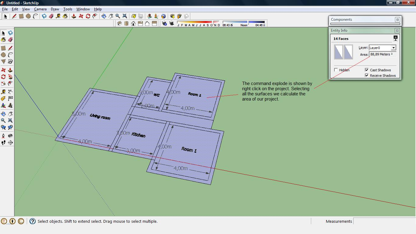 Sketchup tutorials for architectural design calculate for Architectural design with sketchup