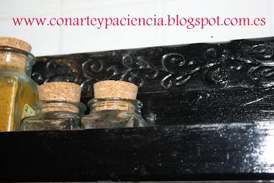 Especiero de forja Con Arte y Paciencia