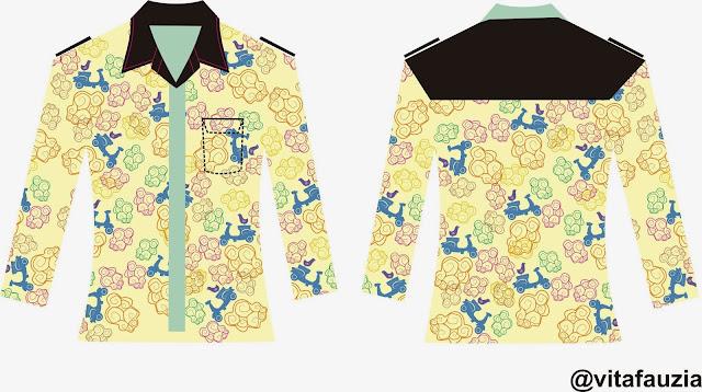 Desain Batik Anak Muda