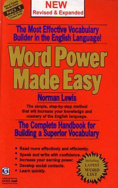 word power made easy by norman lewis free download ebook pdf