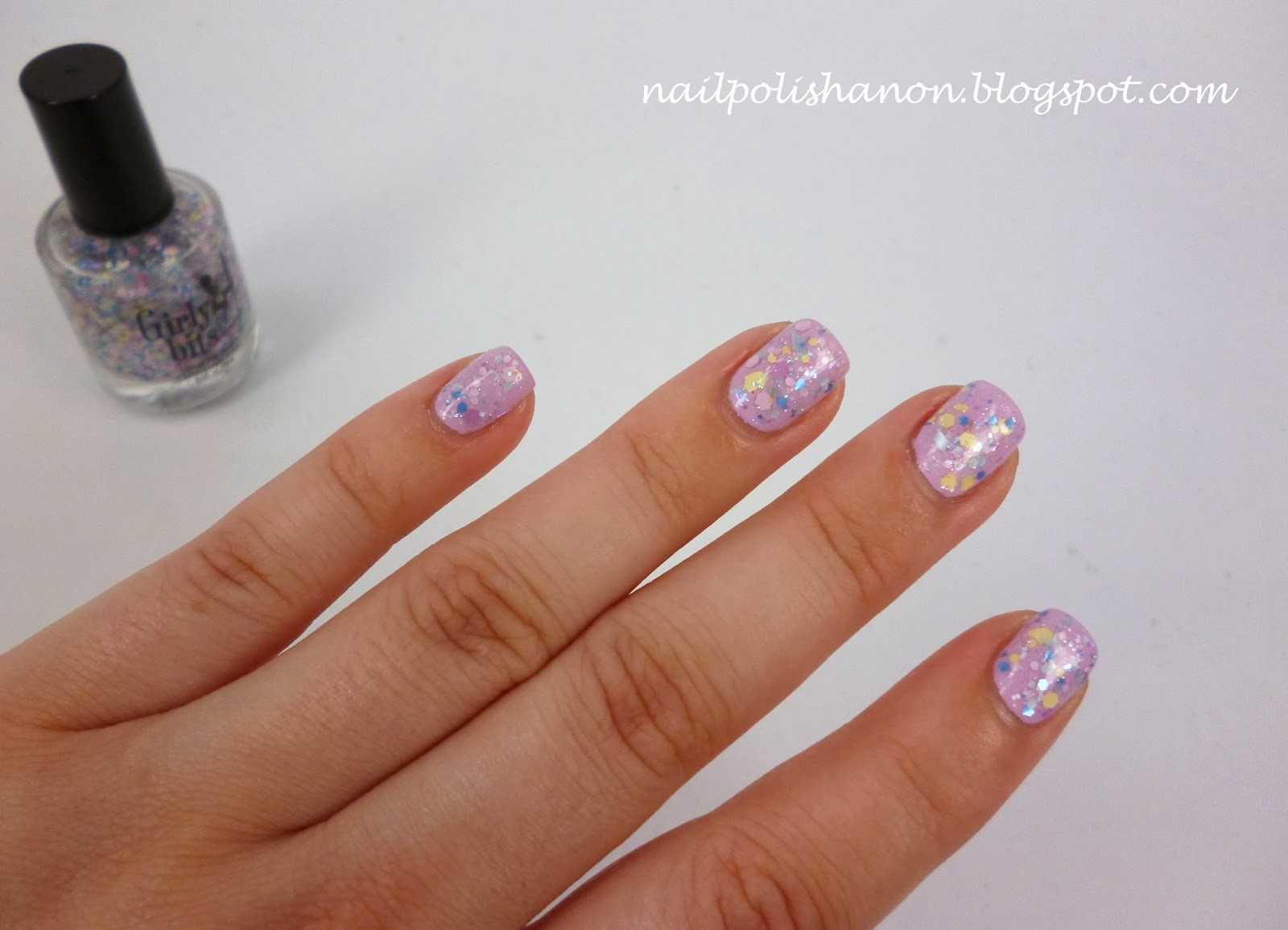 Nail Polish Anon: Even More Girly Bits Swatches
