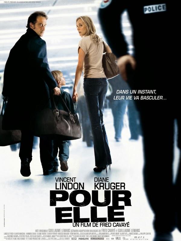 Affiche du film Pour Elle, de Frédéric Cavayé (2008)