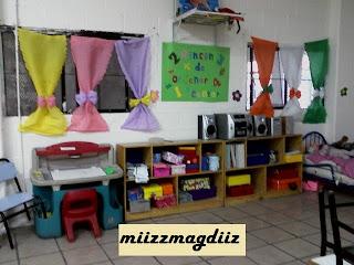 Salones decorados preescolar imagui - Como decorar mi salon ...