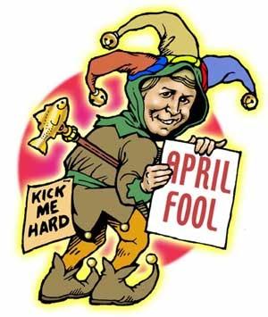 Április bolondja - április 1.