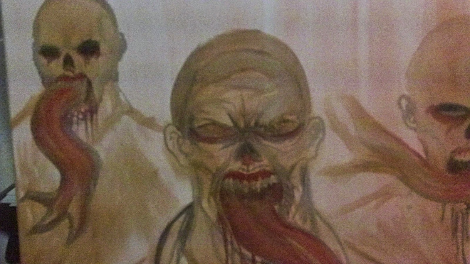 the strain vampire painting art