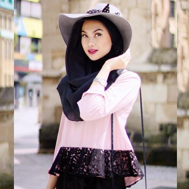 Galeri Foto Nada, Cewek Hijab Modis dan Fashionable Ala ...