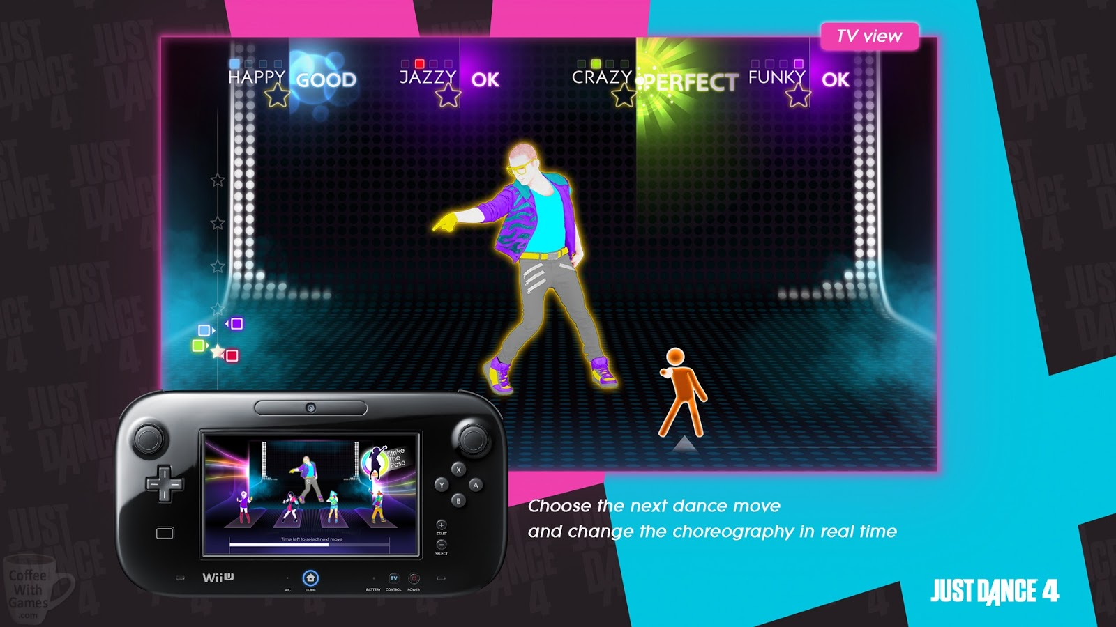 coffee with games what is the most played just dance wii. Black Bedroom Furniture Sets. Home Design Ideas