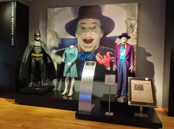 Original 1989 Batman movie costumes