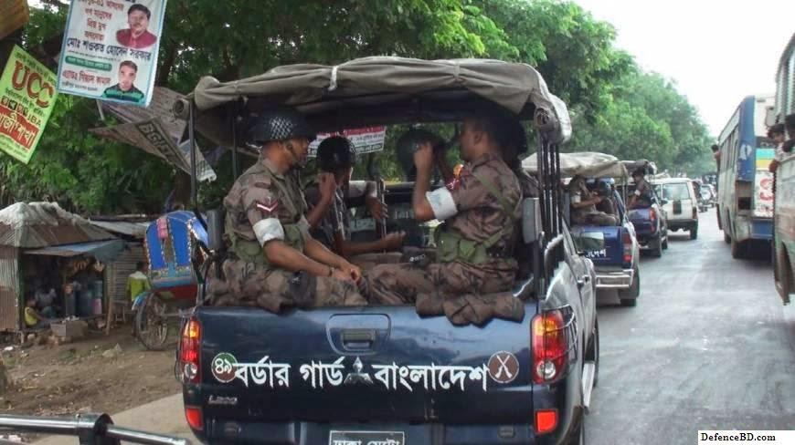 Myanmar Border Police open fired at Bangladesh Border Guard