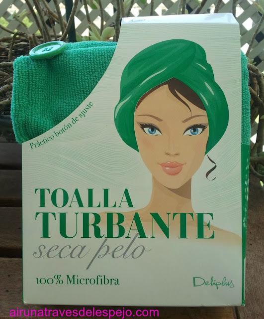mascarilla turbante mercadona
