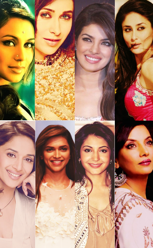 Rani,karishma,priyanka, kareena,deepika,madhuri,anushka en una pelicula juntas ???? NIKHIL